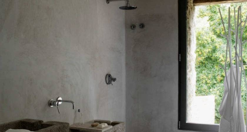 Concrete Bathroom Sinks Make Strong Statement