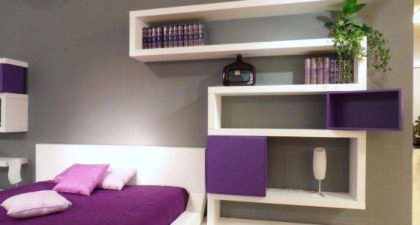 Contemporary Bedroom Design Ideas Beautiful Wall Shelves