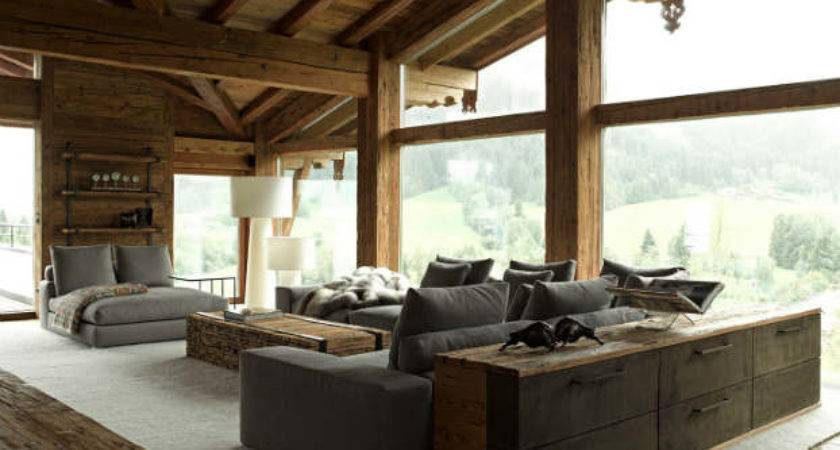 Contemporary Chalet Rustic Atmosphere Decoholic