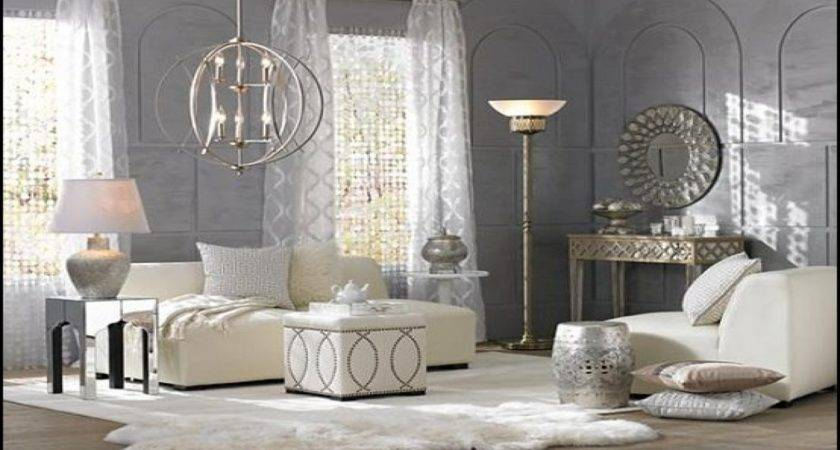 Contemporary Decorating Ideas Bedrooms Vintage Glam