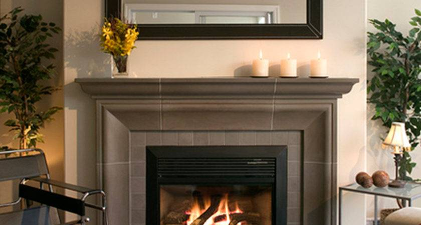 Contemporary Gas Fireplace Designs Fascinating