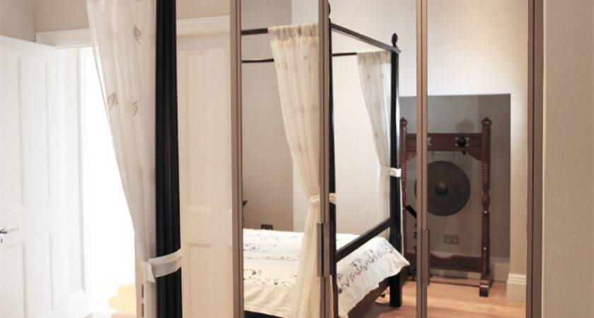 Contemporary Mirrored Fitted Wardrobe Bespoke Furniture