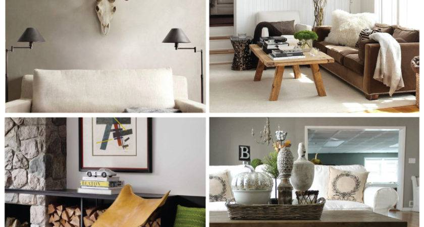 Contemporary Rustic Decor Stories Modern Home