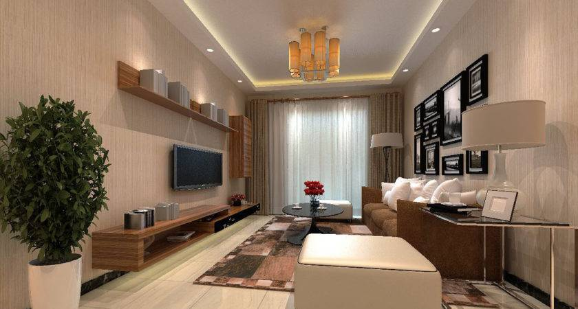 Contemporary Small Living Room Ideas Green