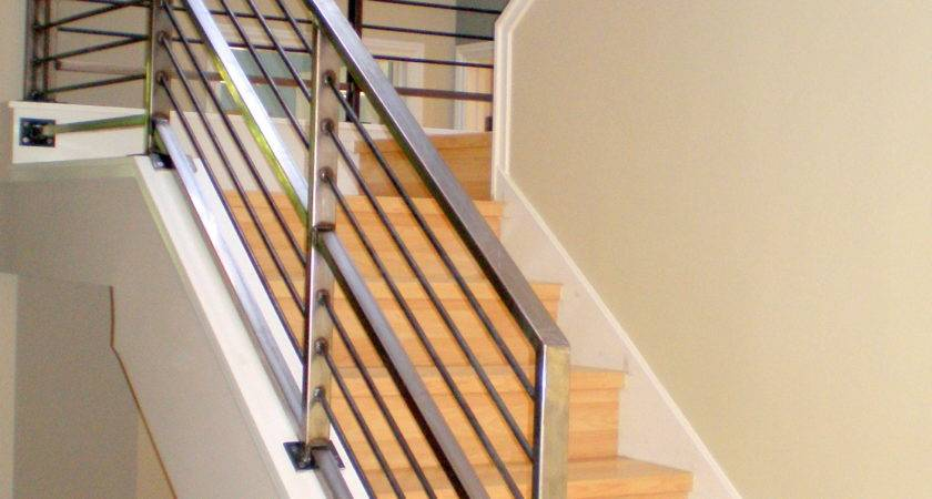 Contemporary Stair Railing Ideas Wood