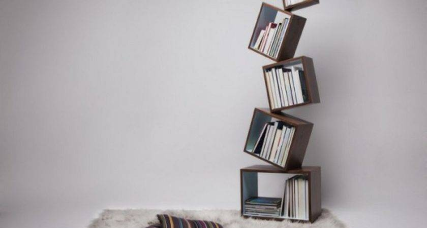Contemporary Unique Bookshelves Design Ideas Decobizz