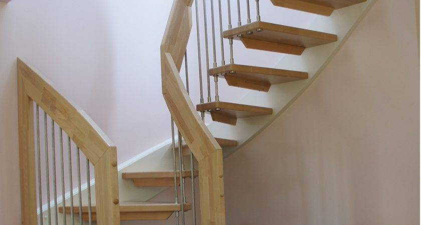 Contemporary Wooden Staircase West Grinstead