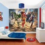 Cool Avengers Bedroom Set Theme Decal Ideas Kids