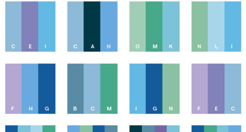 Cool Color Schemes Combinations Palettes