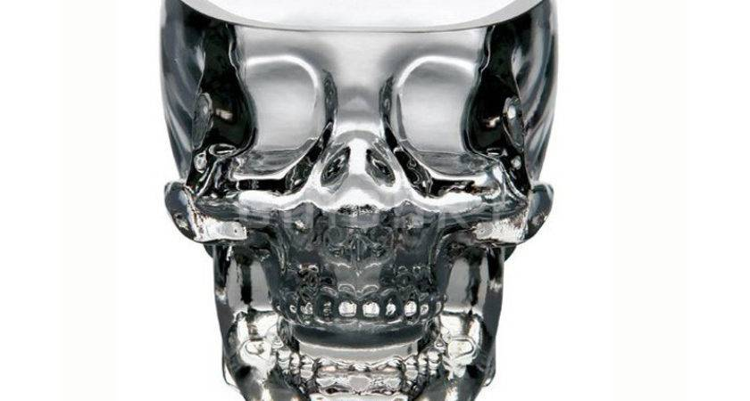 Cool Creative Crystal Skull Pirate Shot Glass Drink