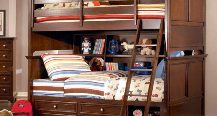 Cool Playful Double Decker Bed Kids Home Furniture