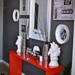 Cool Red Grey Home Cor Ideas Digsdigs