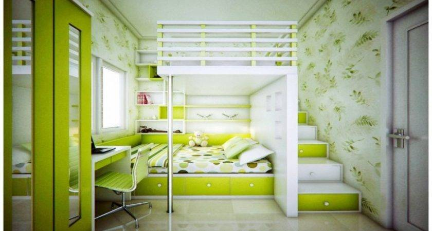 Cool Teen Room Turquoise Bedroom Lime Green