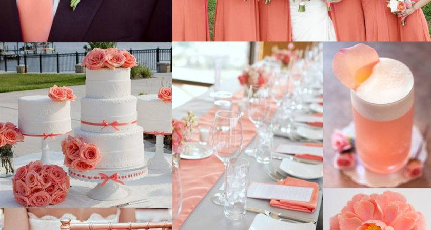 Coral Wedding Color Combination Options Don Want