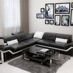 Corner Modern Sofa Leather Lounge Suite