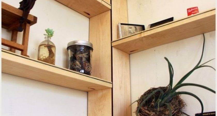 Corner Plant Shelf Plans Tall