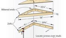 Corner Shelf Building Plans Pdf Concrete Picnic