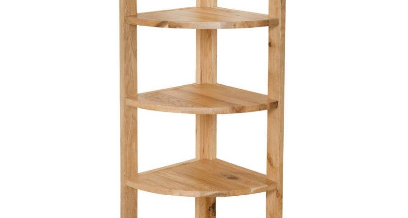 Corner Shelf Unit Small Rooms Home Decorations