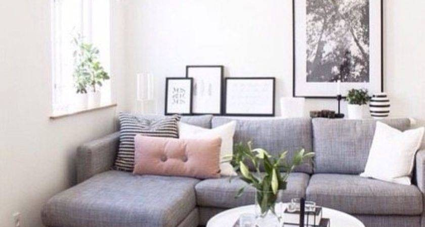 Corner Sofa Arrangement Small Living Room Homelilys