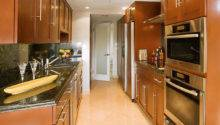 Corridor Kitchen Home Design Decor Reviews