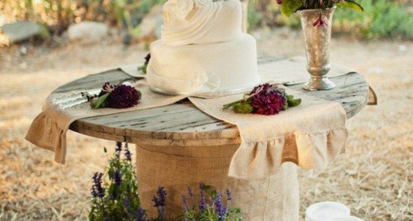 Country Chic Wedding Cake Table Day Pins