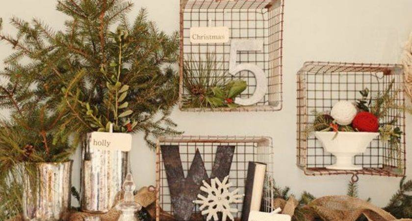 Country Christmas Style Decorate