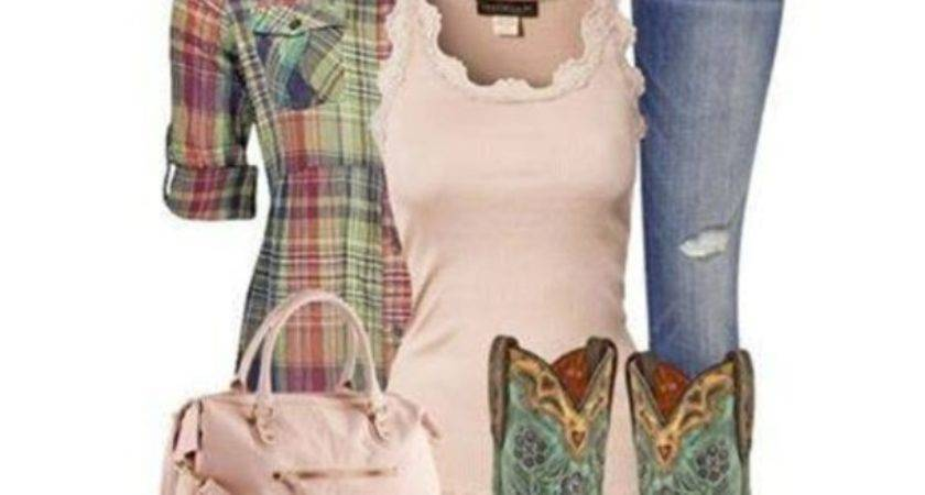 Country Girl Outfits Boots