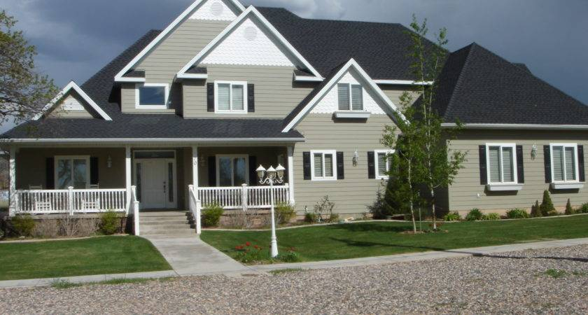 Country Home Exterior Paint Color Ideas