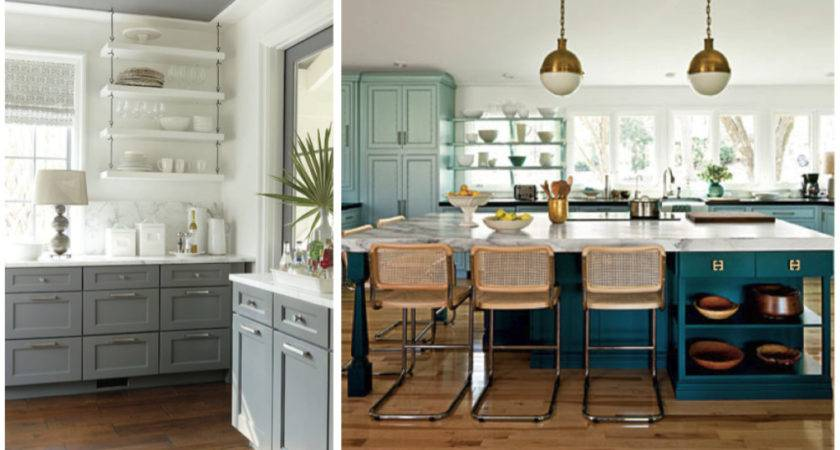 Country Kitchen Color Beyond All White Amykranecolor