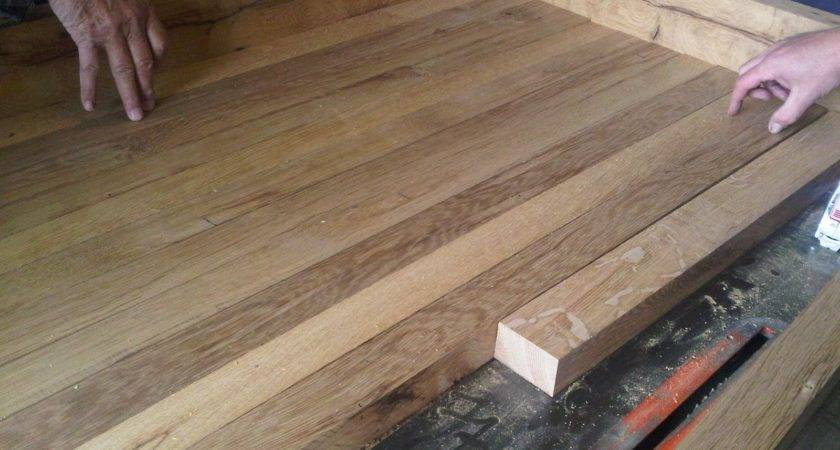 Country Kitchen Diy Reclaimed Wood Countertop