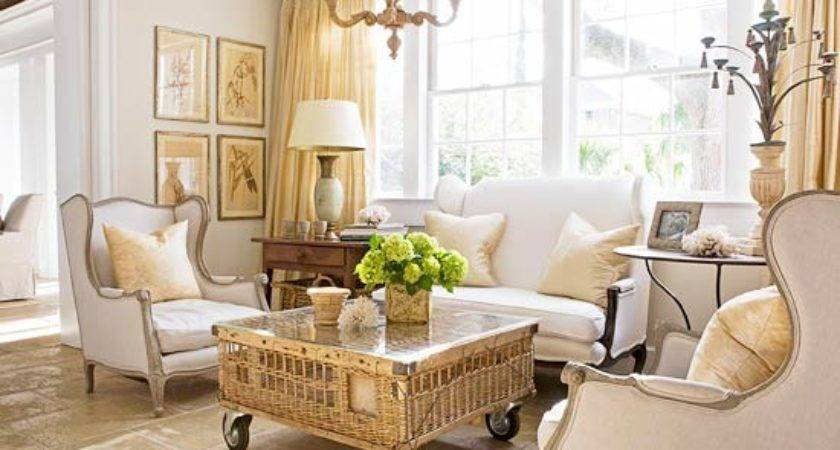 Country Living Room Decorating Ideas Bhg
