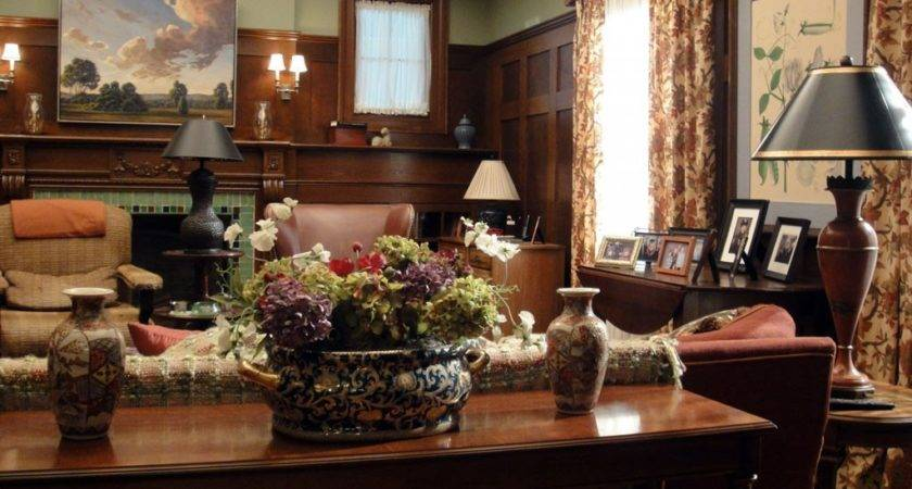 Country Living Room Trendy Furniture