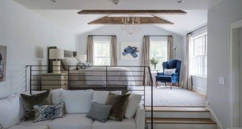 Country Loft Style Bedroom Design Ideas Renovations Photos