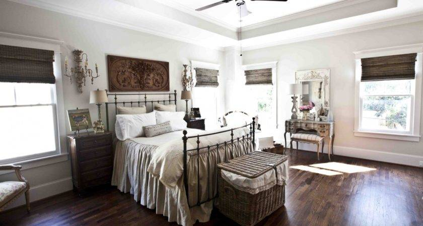 Country Rustic Curtains French Farmhouse Bedroom