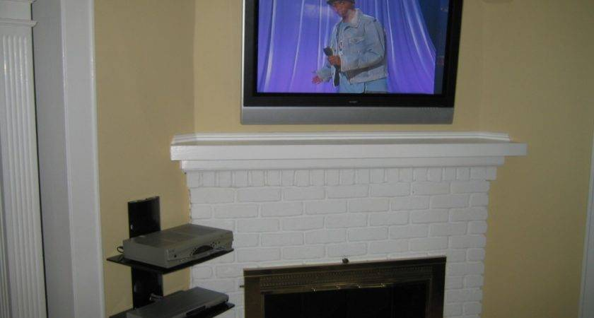 Coventry Instlal Over Fireplace All Wires