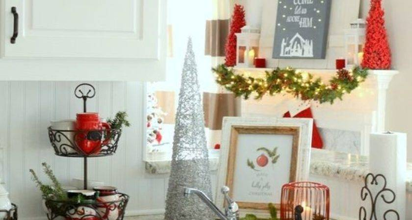 Cozy Christmas Kitchen Cor Ideas Shelterness