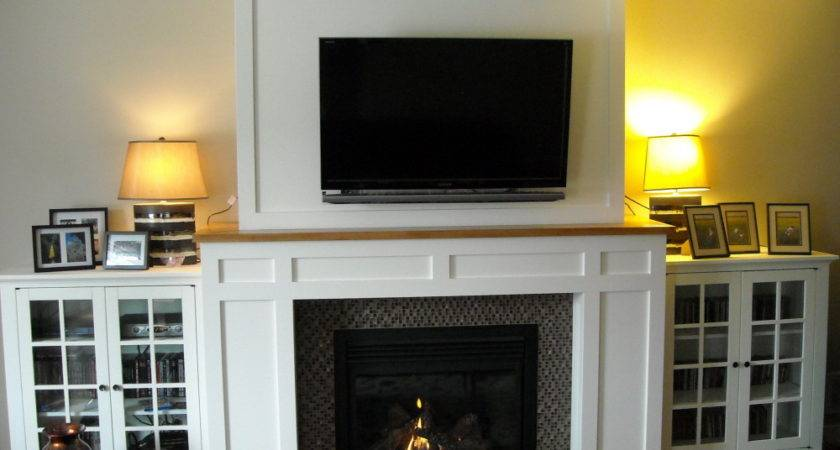 Craftsman Fireplace Built Media Cabinets Fine