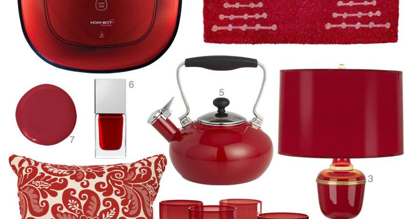 Cranberry Red Accessories Home Decor