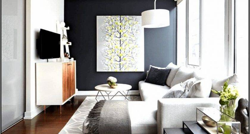 Create Feature Wall Living Room Home