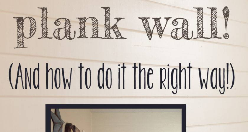 Create Plank Wall Not