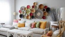 Creative Large Living Room Wall Decor Stylish