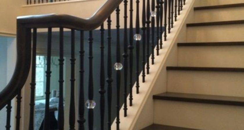 Crystal Balusters Home Design Ideas Remodel