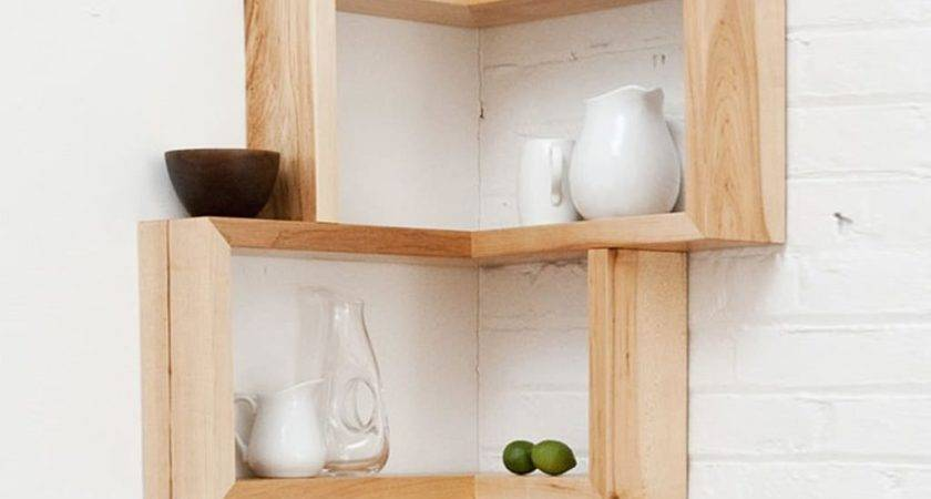 Cubes Corner Shelves Wall Mount Colour Story Design