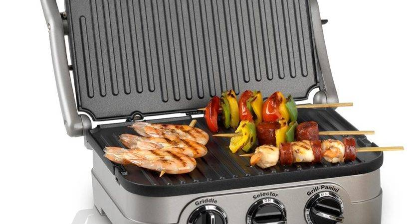 Cuisinart Griddle Grill Silver Amazon