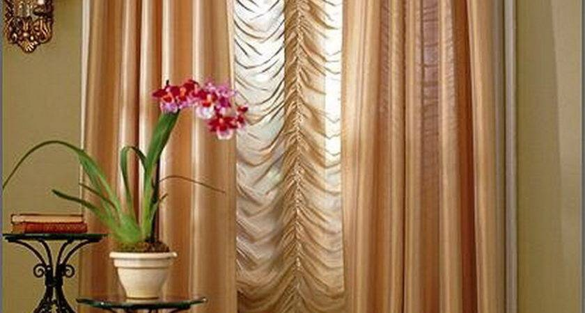 Curtain Living Room Interior Design