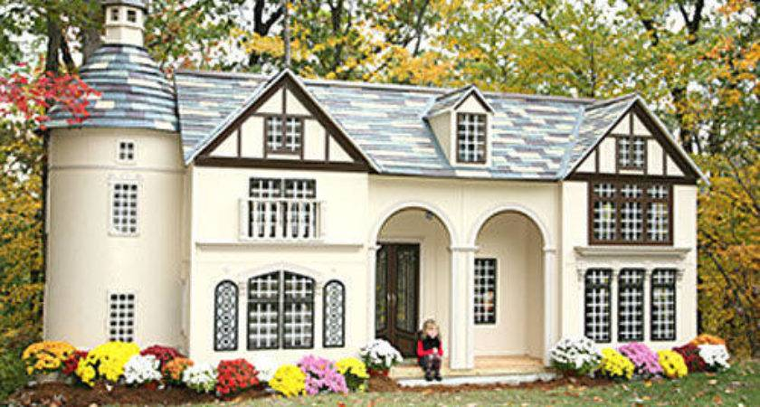 Custom Home Replica Playhouse Posh Tots Epic Wishlist