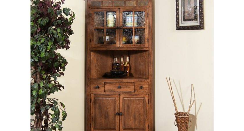 Custom Made Dining Room Corner Hutch Kitchen