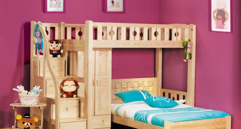 Cute Bunk Beds Interesting Shaped Design