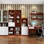 Danish Modern Study Room Interior Design House