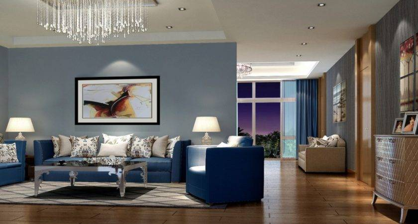 21 Beautiful Blue Walls In Living Room Homes Decor,Romantic Master Bedroom Bedroom Wall Art